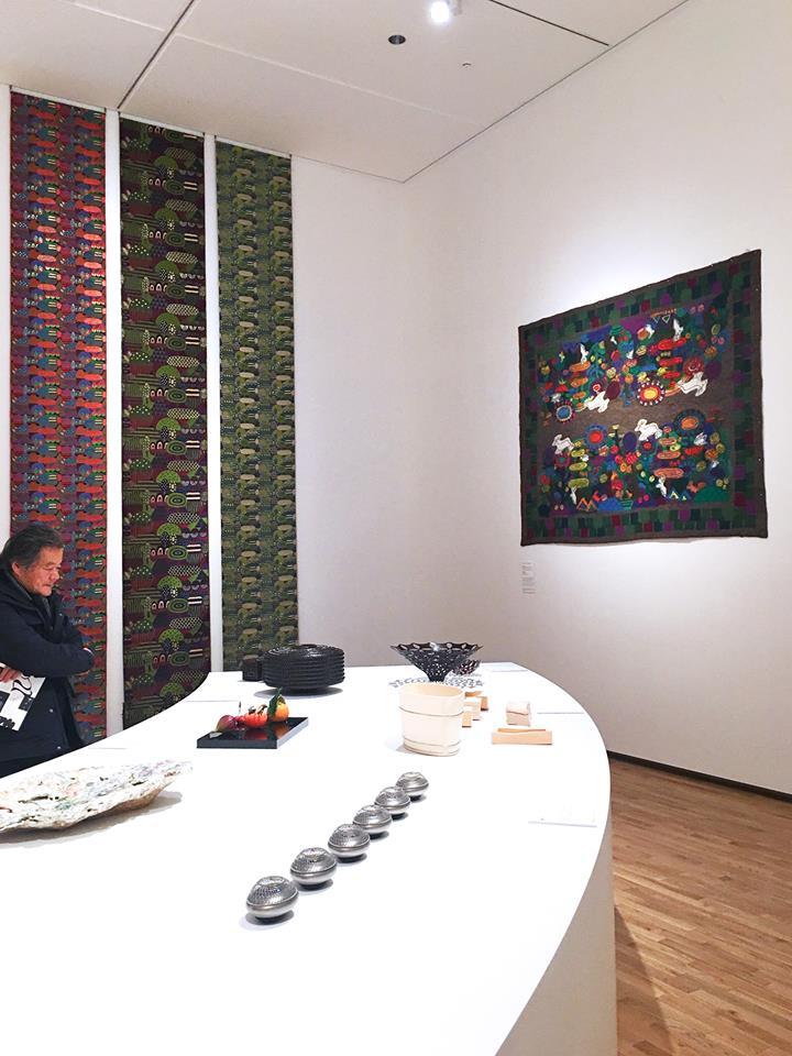 富山県美術館 国際北陸工芸サミット「ワールド工芸100選」光る山