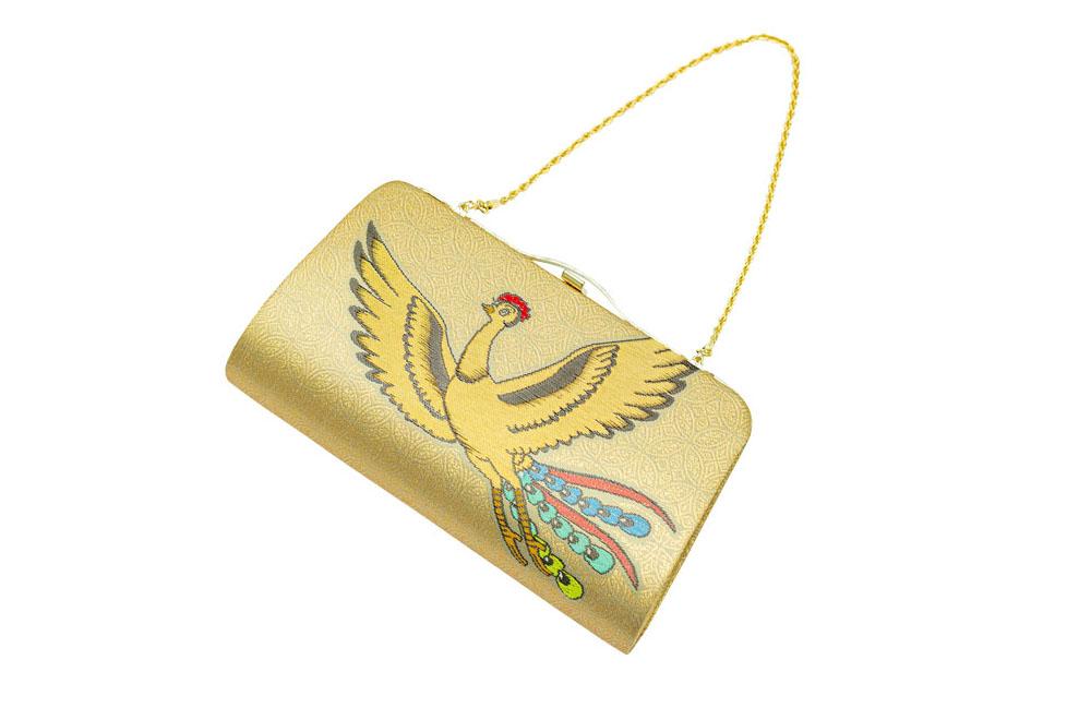 西陣織×火の鳥 クラッチバッグ