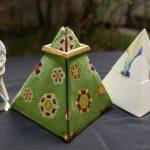 西陣織 ピラミッド型 仕覆 SUI