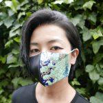 西陣織マスク 西陣織 金襴 布マスク