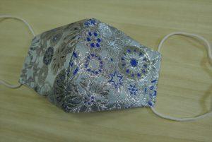 西陣織 金襴 布マスク
