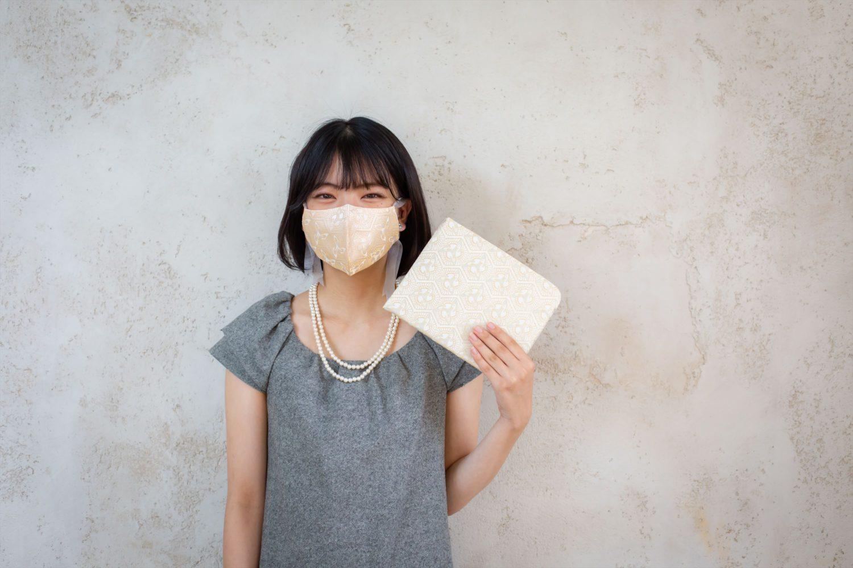 Dress Up Your Breath | 呼吸を着飾ろう 〈tsuto〉西陣織のマスクケース