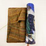 西陣織 クレイジーキルト作品 尺八袋