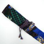 西陣織 クレイジーキルト作品 篠笛袋