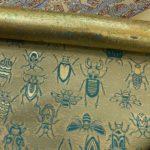 HIROMI ASAI AW21 西陣織金襴 虫紋様